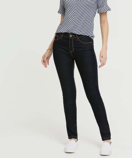 Image_Calça Skinny Feminina Bolsos Five Jeans