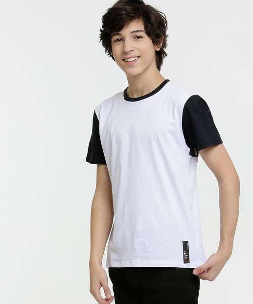 Image_Camiseta Juvenil Recorte Manga Curta