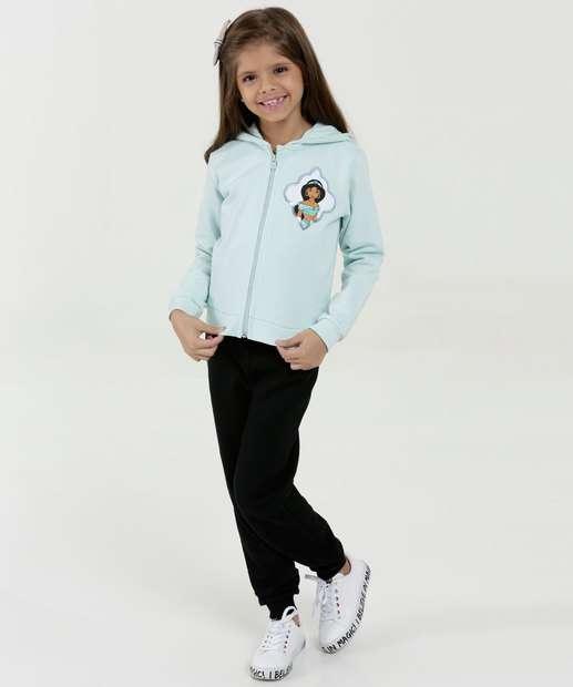 Image_Conjunto Infantil Moletom Estampa Jasmine Disney
