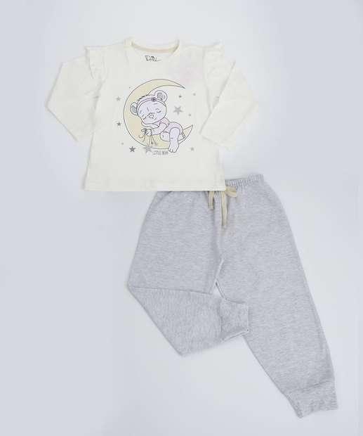 Image_Pijama Infantil Estampado Manga Longa Evanilda