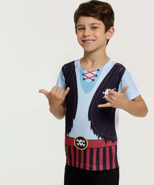 Image_Camiseta Infantil Estampa Pirata Brinde MR