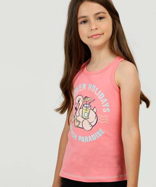Image_Regata Infantil Estampa Flamingo Tam 4 a 10