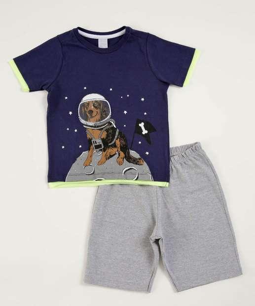 Image_Conjunto Infantil Estampa Cão Astronauta Marisa