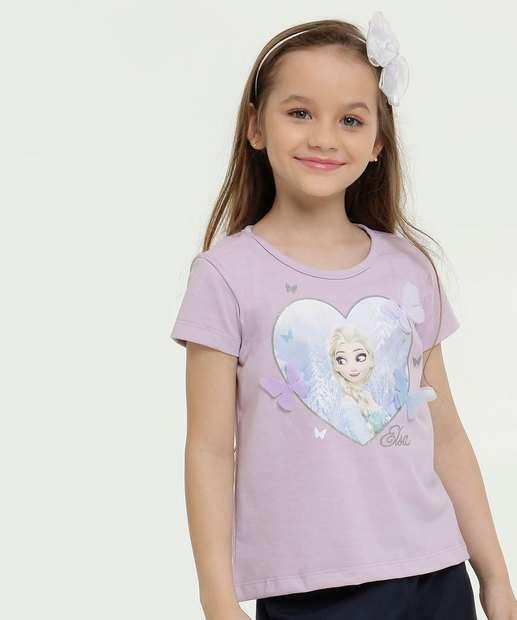 Image_Blusa Infantil Estampa Frozen Disney