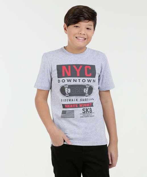 Image_Camiseta Juvenil Estampa Frontal Marisa