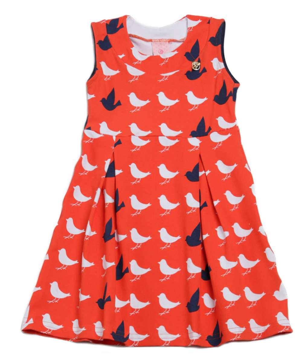 Image_Vestido infantil estampa pássaros Abrange