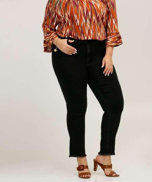 Image_Calça Plus Size Feminina Jeans Skinny Biotipo