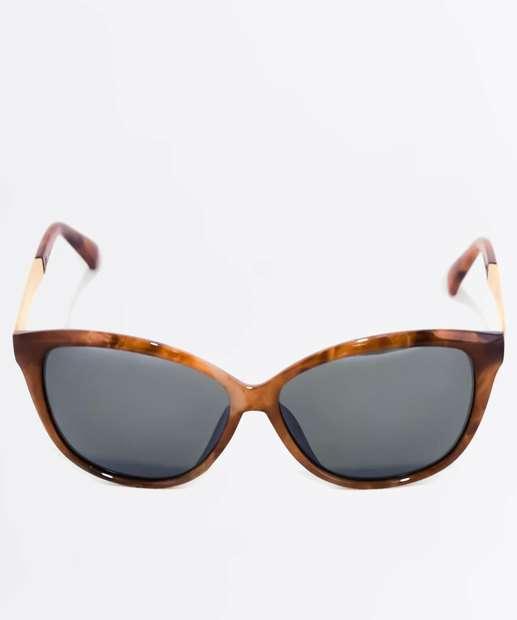 Image_Óculos de Sol Feminino Animal Print Gateado Marisa