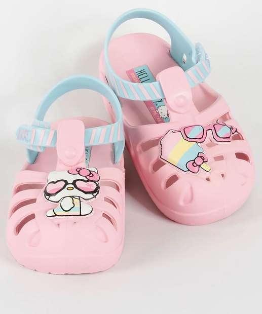 Image_Sandália Infantil Summer Baby Hello Kitty Grendene Kids 21880