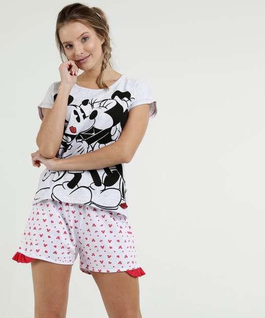 Image_Pijama Feminino Estampa Mickey Minnie Disney