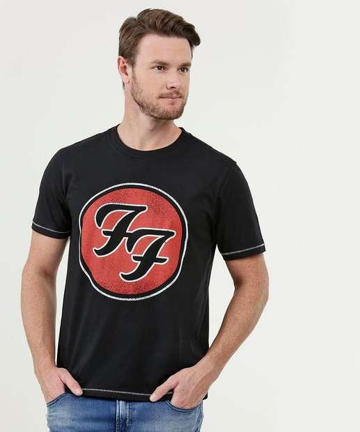 Image_Camiseta Masculina Estampa Foo Fighters Live Nation