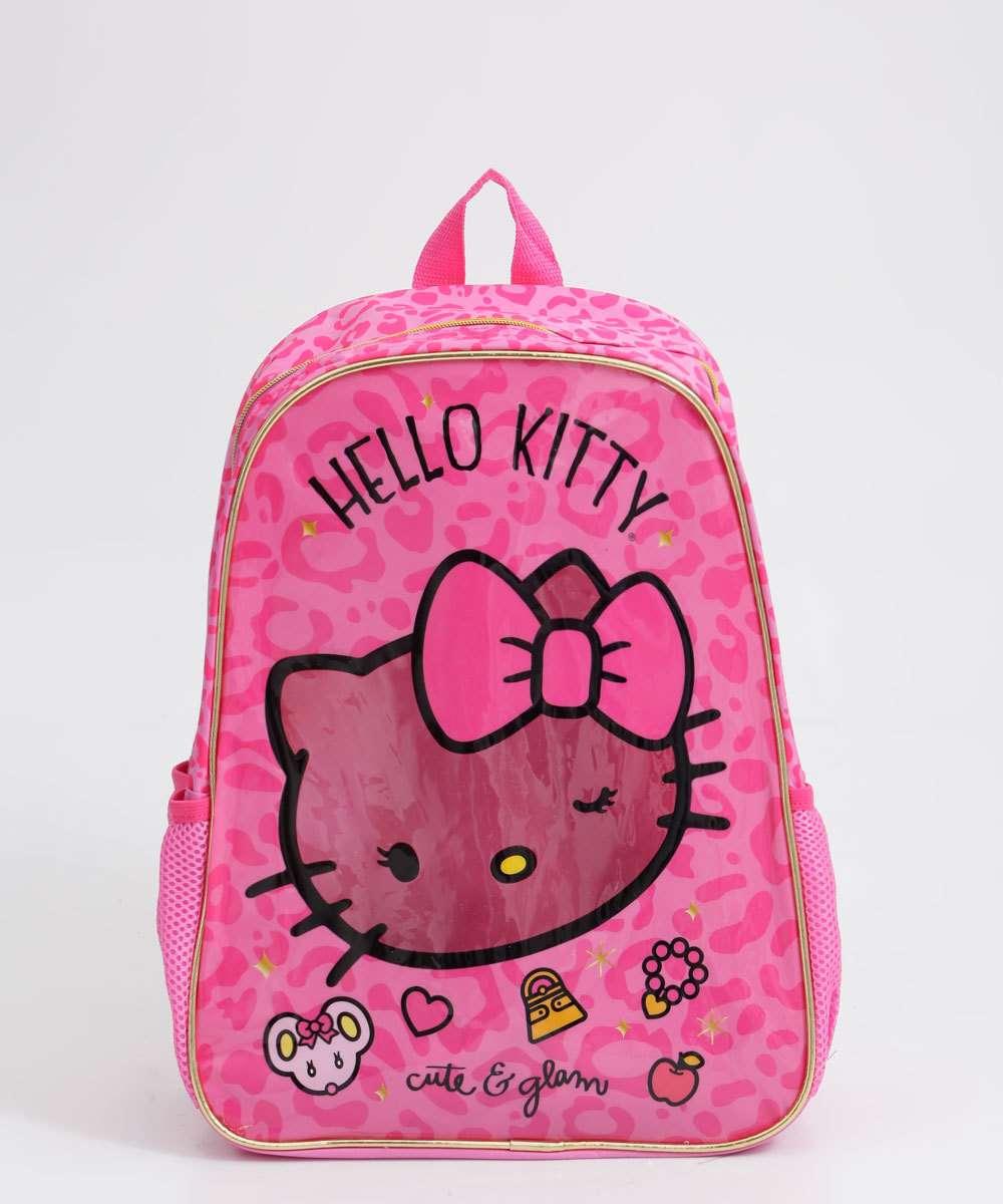 Mochila Infantil Estampa Hello Kitty Xeryus