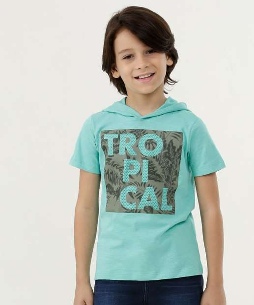 Image_Camiseta Infantil Estampa Frontal Capuz MR