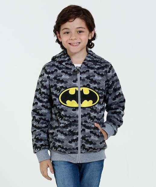 Image_Blusa Infantil Moletom Bordado Batman Liga Da Justiça