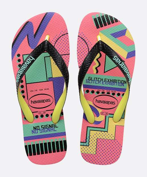 Image_Chinelo Havaianas Feminino Estampado Top Cool