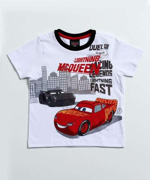 Image_Camiseta Infantil McQueen Carros Disney