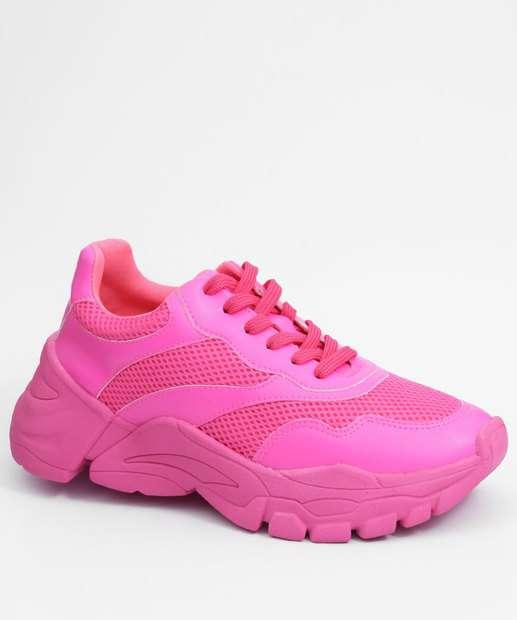 Image_Tênis Feminino Sneaker Neon Marisa