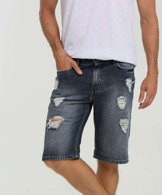 Image_Bermuda Masculina Jeans Destroyed Bolsos MR