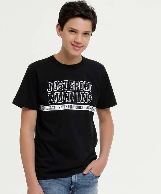 Image_Camiseta Juvenil Estampa Frontal Manga Curta
