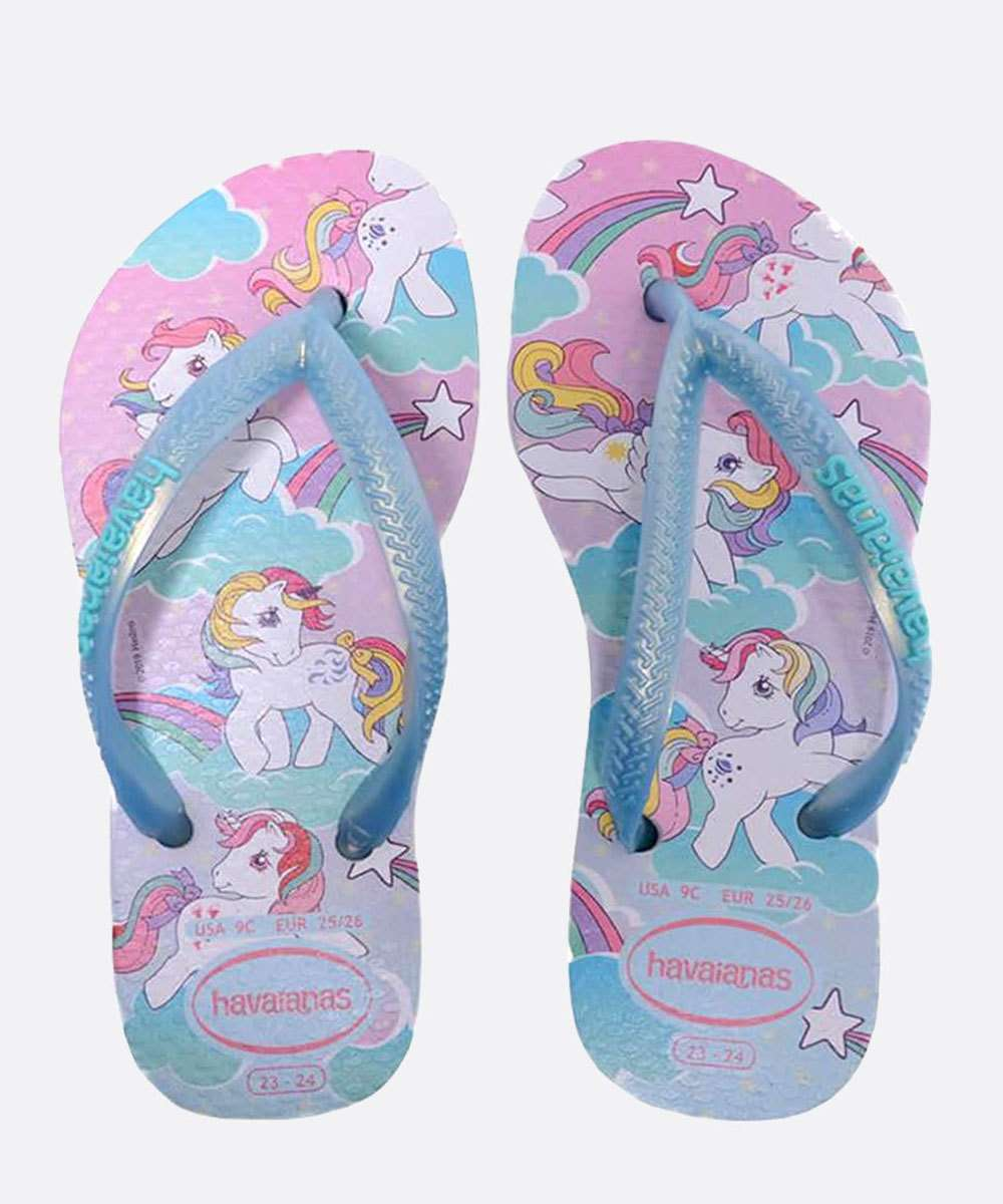 Chinelo Havaianas Infantil Slim My Little Pony