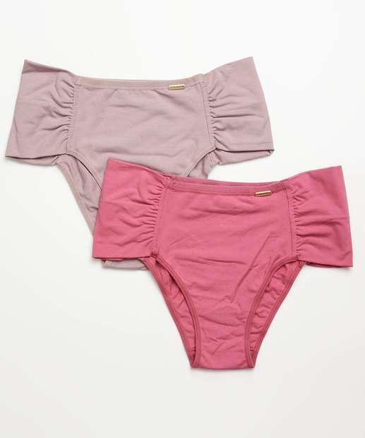 Image_Kit 2 Calcinhas Feminina Biquini Plus Size Love Secret
