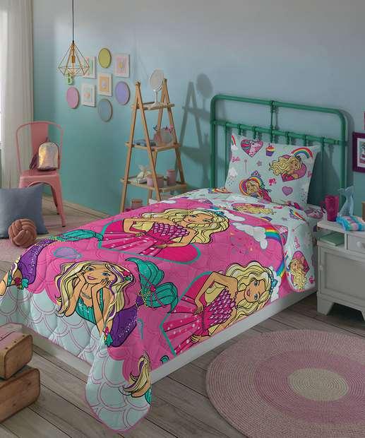 Image_Edredom Infantil Dupla Face Barbie Reinos Mágicos Lepper