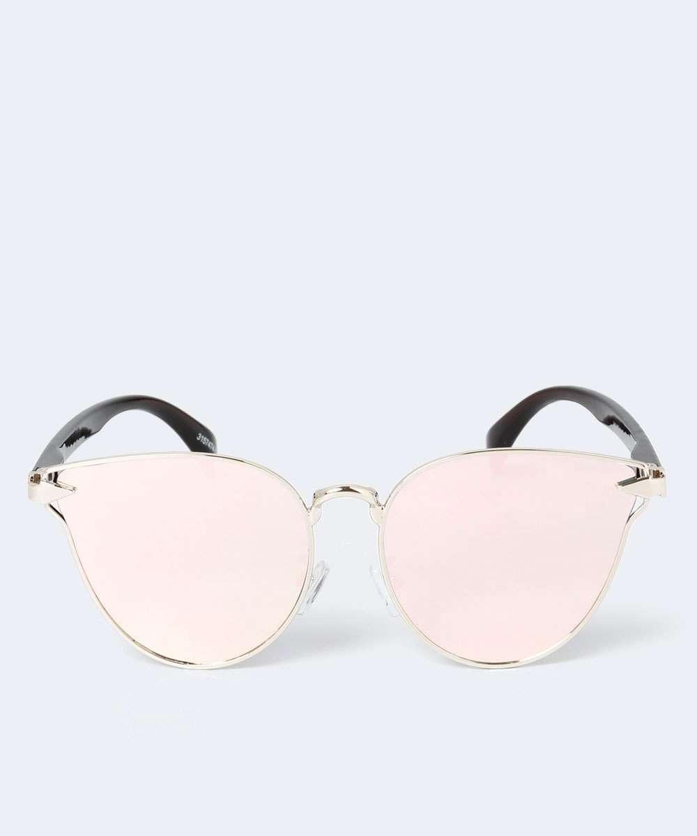 4dafd5aaf1dd1 Óculos Feminino de Sol Gateado Espelhado Marisa