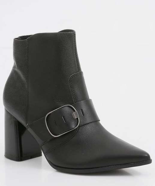 Image_Bota Feminina Ankle Boot Recorte Textura Ramarim