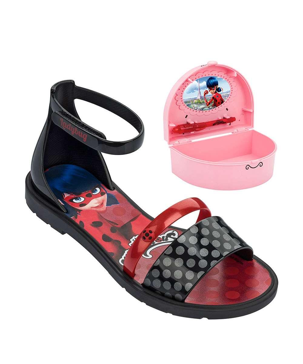 040bee043 Menor preço em Sandália Infantil Ladybug Brinde Grendene Kids