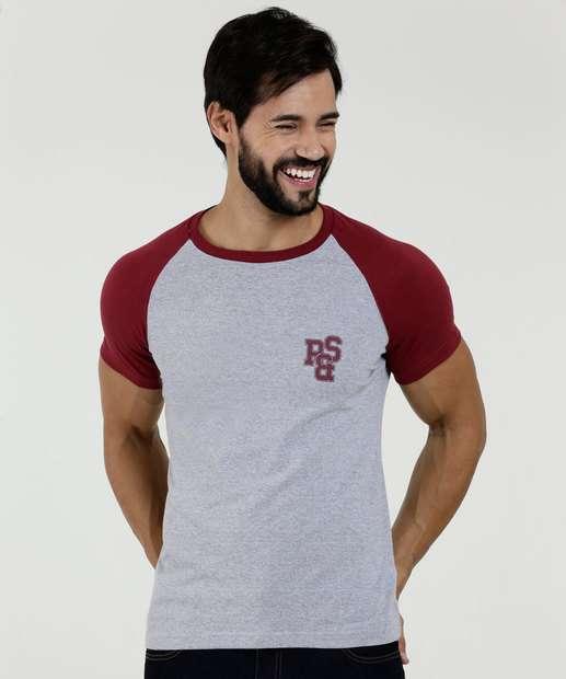 Image_Camiseta Masculina Recorte Manga Curta Rock & Soda