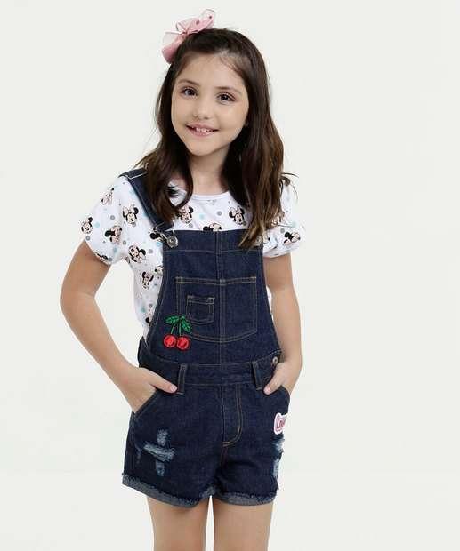 Image_Jardineira Infantil Jeans Destroyed Marisa
