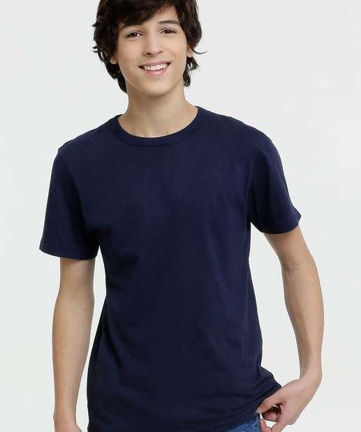 Image_Camiseta Juvenil Básica Manga Curta