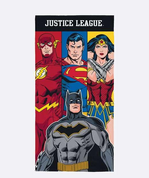 Image_Toalha de Banho Aveludada Infantil Liga da Justiça Lepper