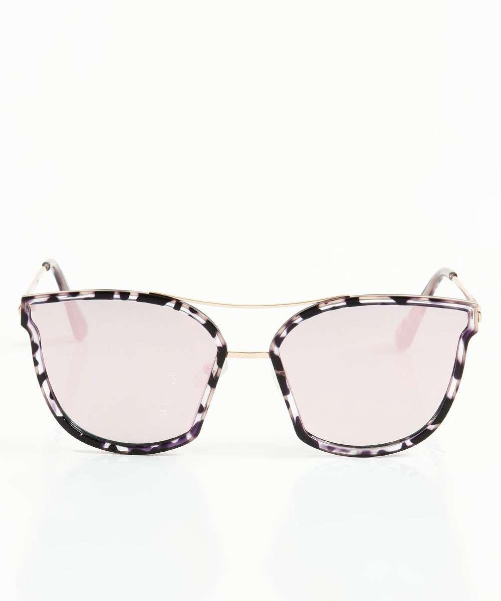 640c5bdbb Óculos de Sol Feminino Quadrado Marisa   Marisa