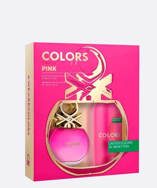 Image_Kit Feminino Perfume e Desodorante Colors Pink Benetton - Eau de Toilette