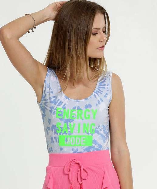 Image_Body Feminino Neon Regata Estampa Tie Dye