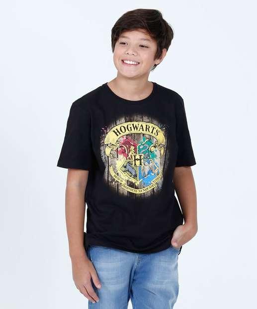 Image_Camiseta Juvenil Estampa Brasão Harry Potter Warner Bros