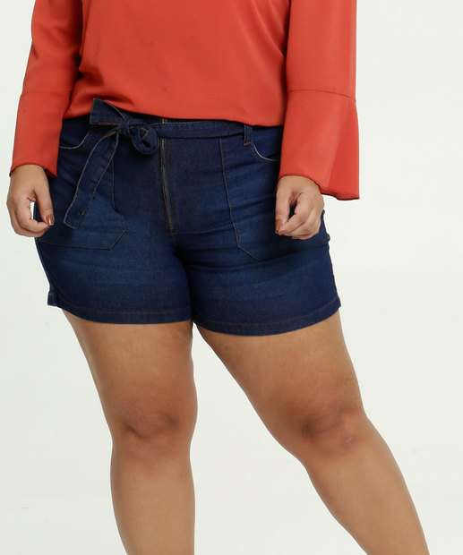 Image_Short Feminino Jeans Clochard Plus Size