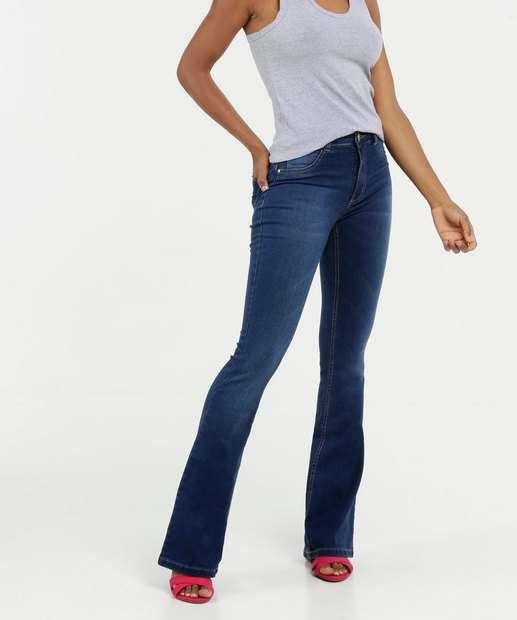 Image_Calça Jeans Strecth Flare Feminina Biotipo