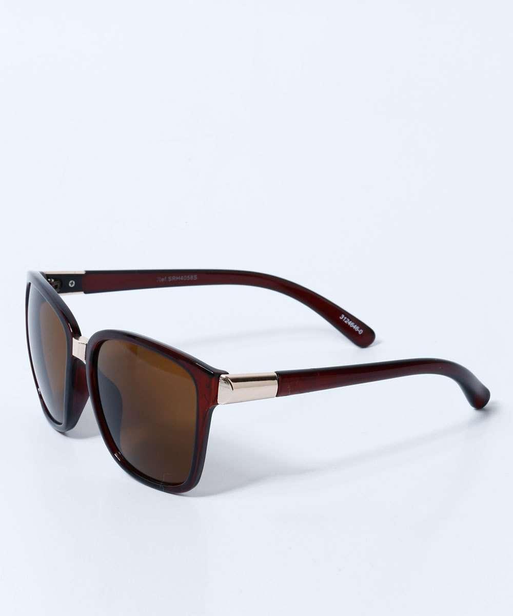 3d7bc21b825f1 Óculos Feminino de Sol Quadrado Marisa