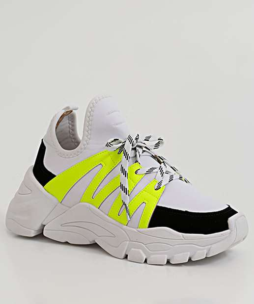 Image_Tênis Feminino Chunky Sneaker Neon Zatz