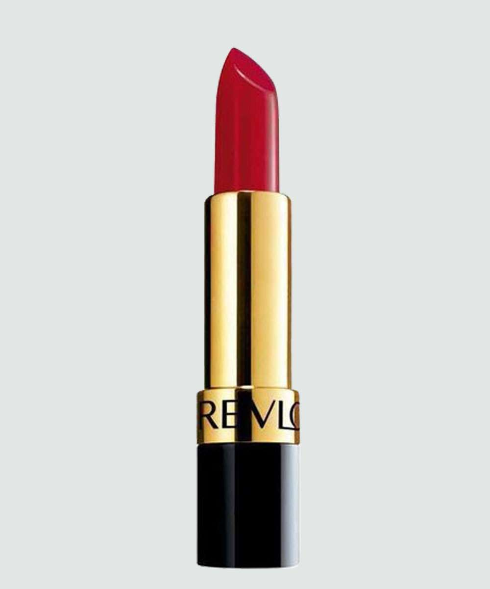 Batom Super Lustrous Lipstick Revlon - Certainly Red