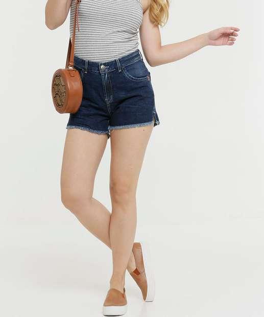 Image_Short Feminino Barra Desfiada Zune Jeans