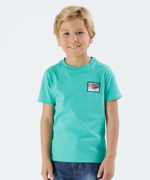 Image_Camiseta Infantil Manga Curta Estampa Skate Marisa