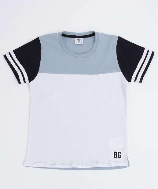 Image_Camiseta Infantil Recorte Manga Curta
