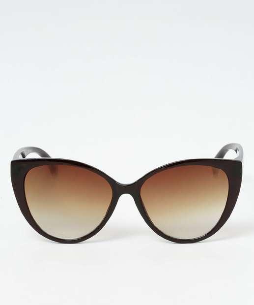 501ce61a2abcf Óculos de Sol Feminino Gateado Marisa