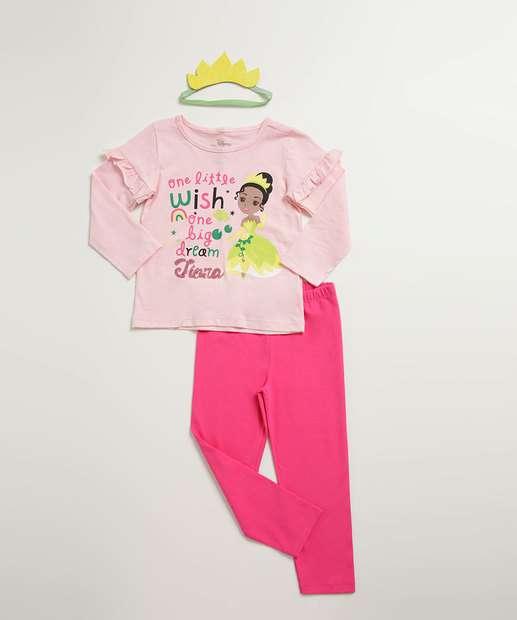 Image_Conjunto Infantil Estampa Princesa Tiana Brinde Disney