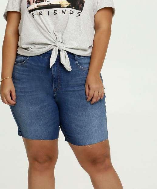 Image_Bermuda Feminina Jeans Bolsos Plus Size Marisa