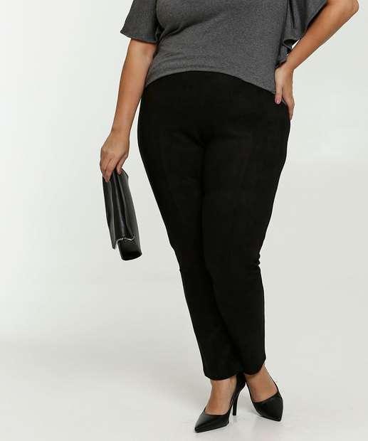 Image_Calça Feminina Legging Suede Plus Size Marisa