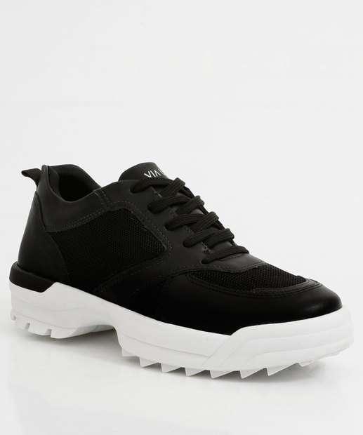Image_Tênis Feminino Chunky Sneaker Tratorado Via Uno